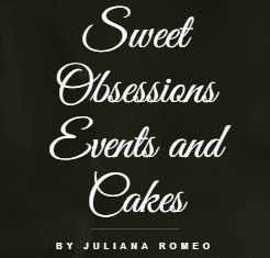 Sweet Obsessions Events and Cakes Logo