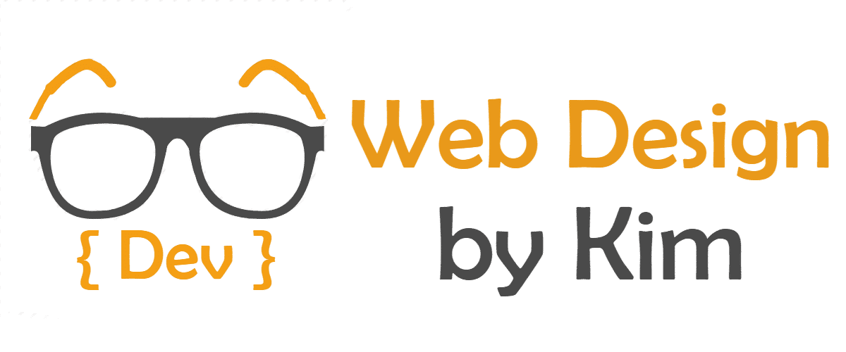 Web Design by Kim Logo