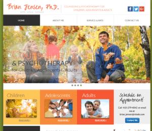 Dr. Brian Jensen Website