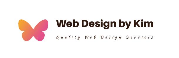 Web Design by Kim Logo