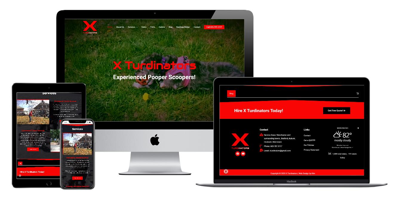 xturdinators multi devices website view