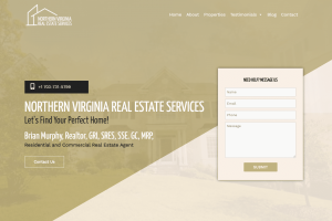 Northern Virginia Real Estate Services Website