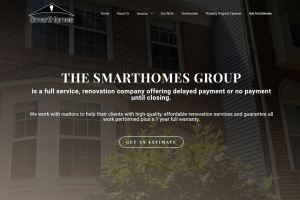 The Smart Homes Group Website